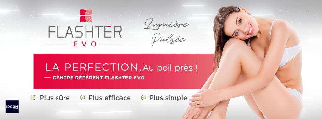 Flashter Evo - Prestations